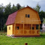 Дома из клееного профилированного бруса