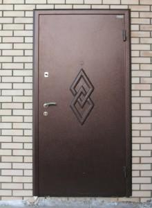Металлические двери с порошковой покраской