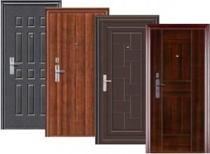 Металлические двери для защиты жилья