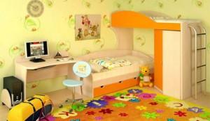 Основной набор детской мебели