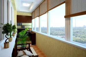 Остекление квартир и балконов пластиковыми окнами