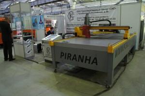 Характеристики установки плазменной резки Piranha