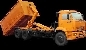 Вывоз мусора контейнерами 20 м3