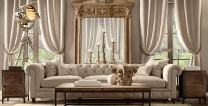 Коллекция мебели restoration hardware