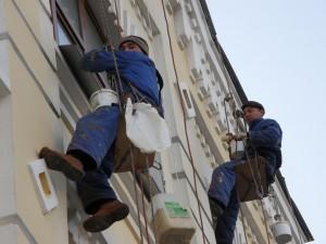 Промышленные альпинисты для высотных работ