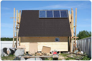 Ветряки и солнечные батареи