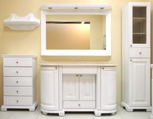 Разная мебель для ванной комнаты