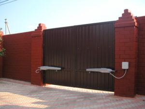 Виды ворот для частной территории