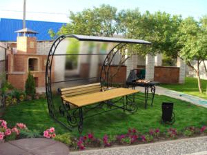 Металлические конструкции для загородного дома