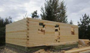Построим сами дом из бруса