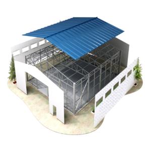 Строительство с помощью быстровозводимых металлоконструкций