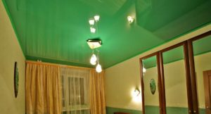 Современные идеи и дизайн с натяжными потолками
